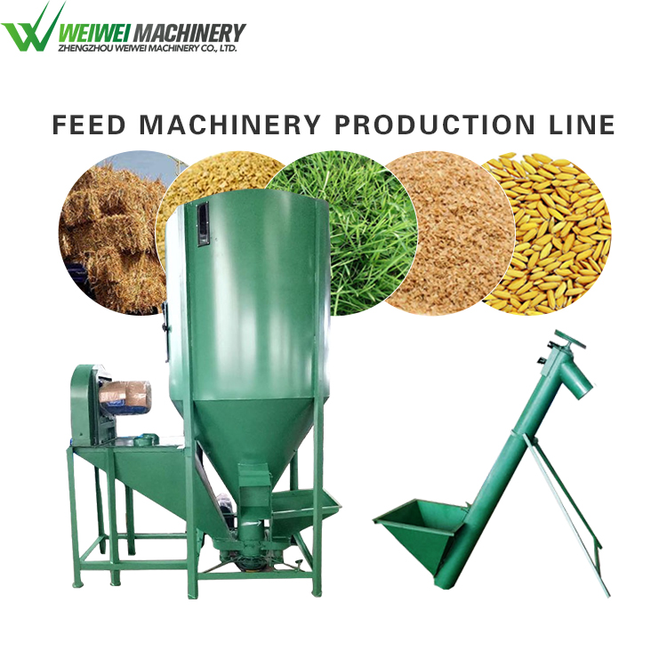 Weiwei feed making how to make animal feed