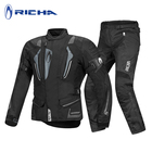 RICHA Motocross suit protection pad four season motorcycle jacket motocross racing moto riding jacket pants moto protective sets