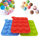 12 Cavity Food-grade Silicone Lollipop Molds Candy Chocolate Molds