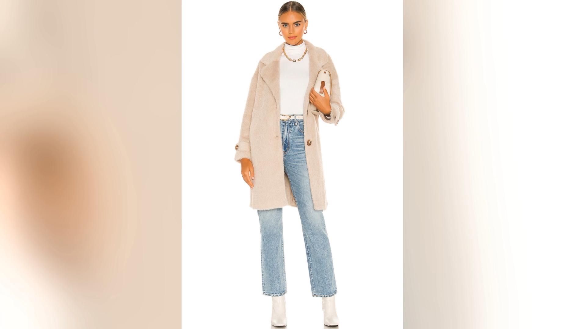 Fashion custom Clothes Wear Faux women winter cloths Long Sleeves warm jacket Faux fur Fleece long Coat