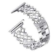 Ремешок для часов iwatch, из нержавеющей стали, 38/42/40/44 мм(China)