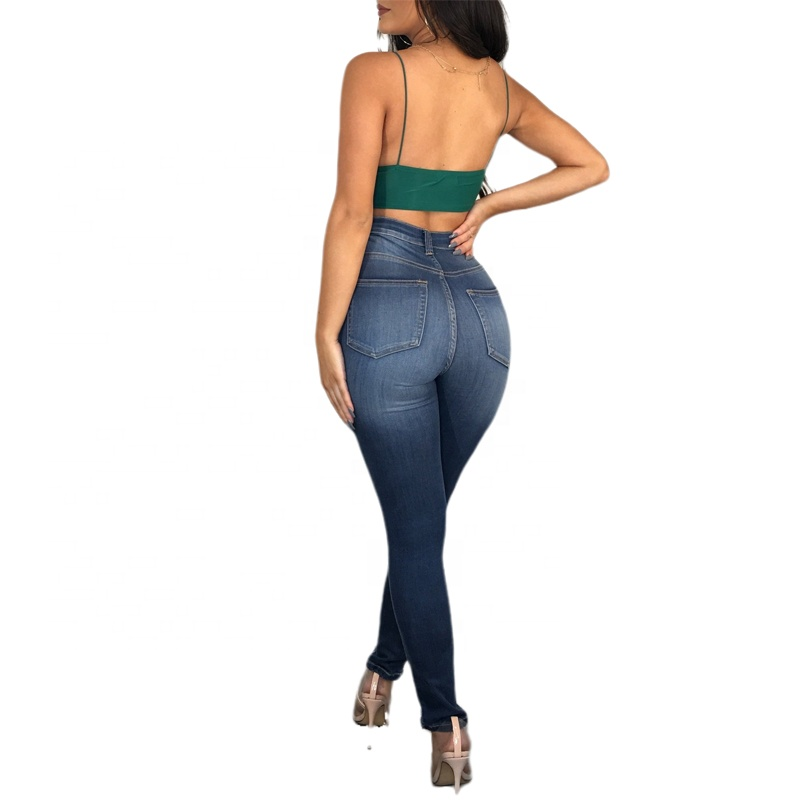 Womens clothing latest design 2019 summer jeans tall with top selling