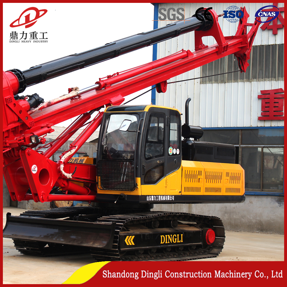 large caliber bore pile drilling rig machine DR-90 for construction