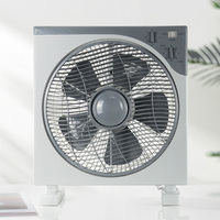JUBER hot sales electric portable table fans 12 inch desk box fan with timer