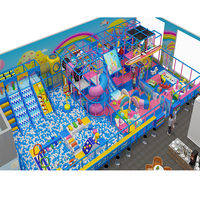 Customized Children Commercial Indoor Playground Slide, Soft Play Equipment For Sale