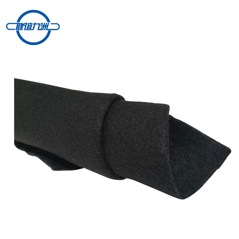 China supplier black non woven <strong>geotextile</strong> <strong>fabric</strong> price for construction