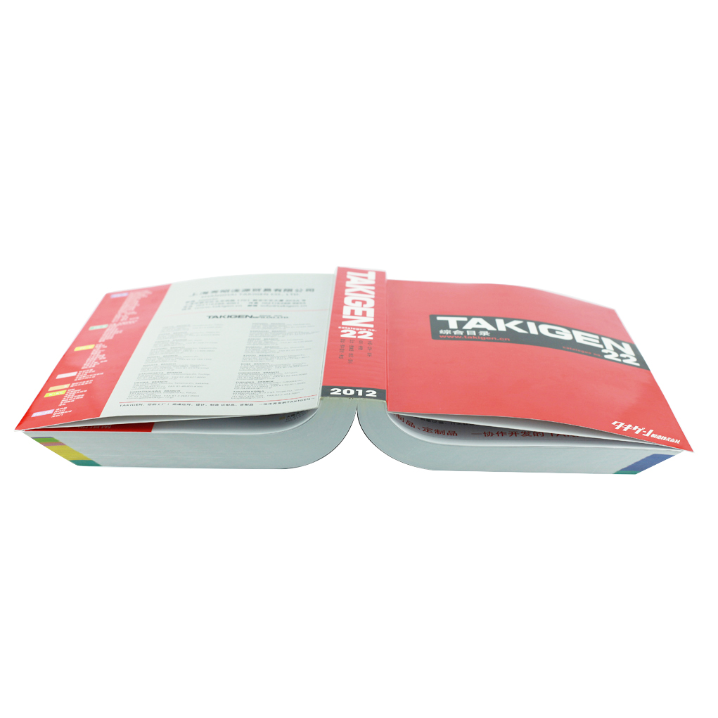 Wholesale High Quality Custom Catalog Printing Soft Cover Color Product Catalog Printing