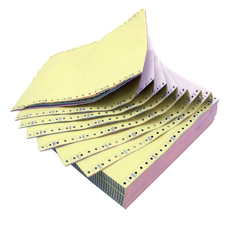 ผู้ผลิตจีนร้อนขาย Acid ฟรีคอมพิวเตอร์ต่อเนื่องการพิมพ์กระดาษ 2 ชั้น