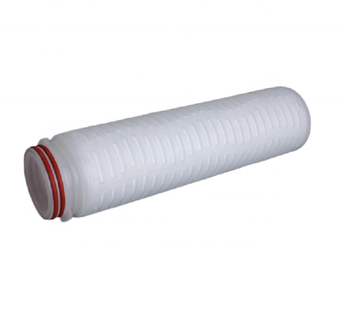 Food grade 10 inch 0.22 um PES membrane filter cartridge for virgin oil coconut oil sterilization
