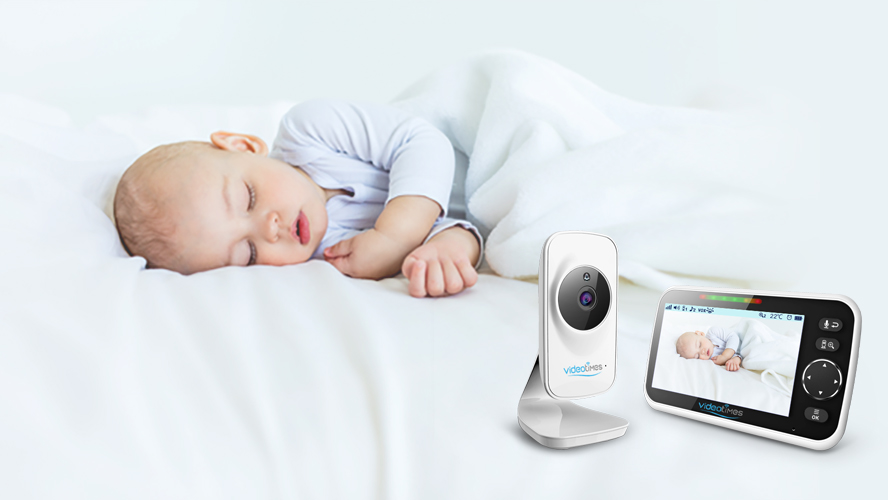 5.0 inch wireless video monitor baby  night vision baby foon temperature baby camera