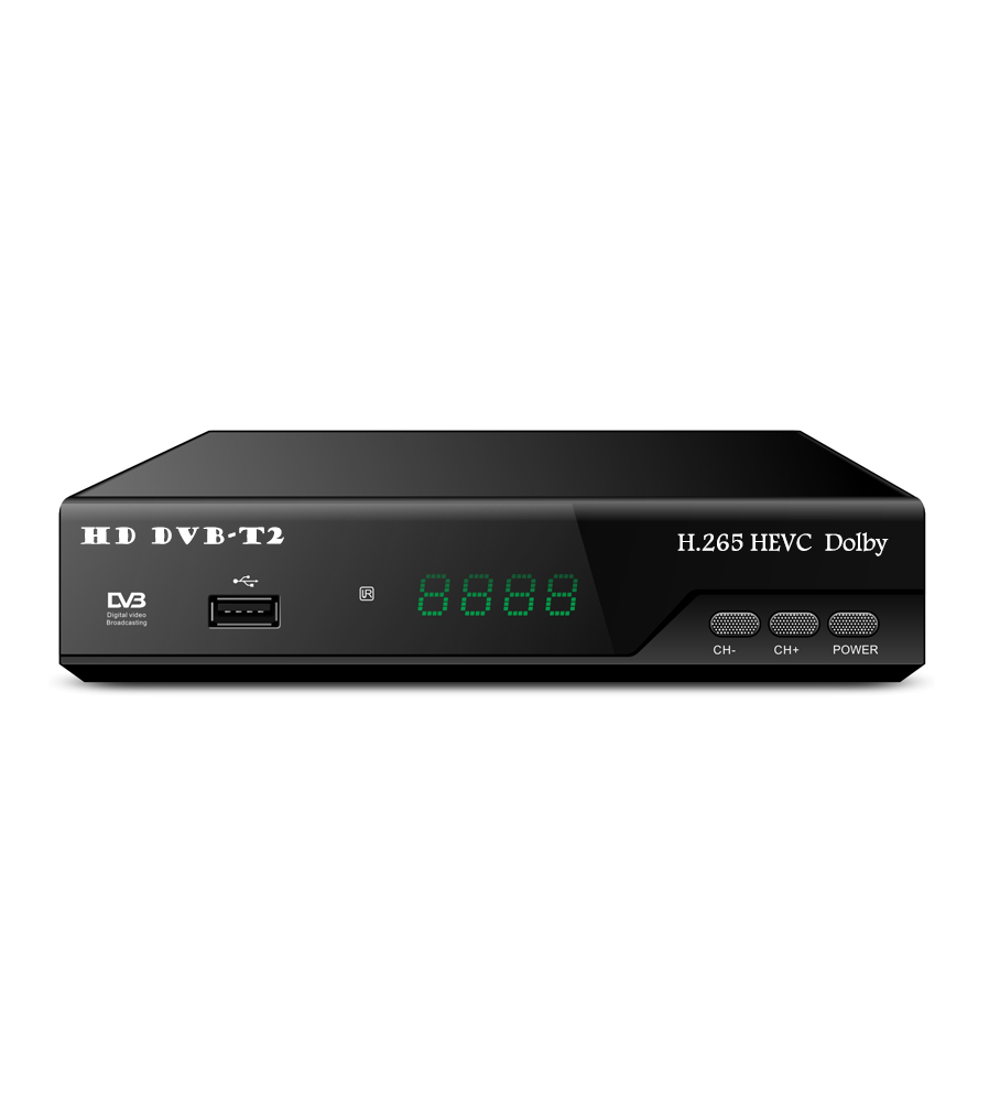 A maioria dos populares DVB-T2 H.265 Receptor set top box Caixa de TV WI-FI 1509M HD Scart dvb-t2 decodificador