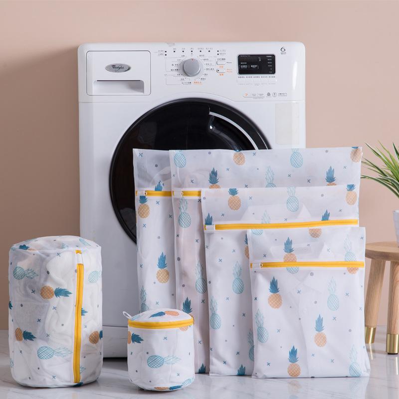 ราคาถูกที่กำหนดเองเชิงพาณิชย์ทำความสะอาดซักรีดถุงสุทธิสำหรับซักผ้าและเครื่องเป่าตาข่ายเชือกถุงซักผ้า