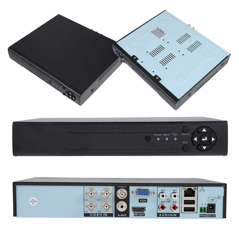 H265 5MP-N 5 IN 1 AHD/CVBS/CVI/TVI/IP 4CH XVR DVR CCTV Recorder Promotion