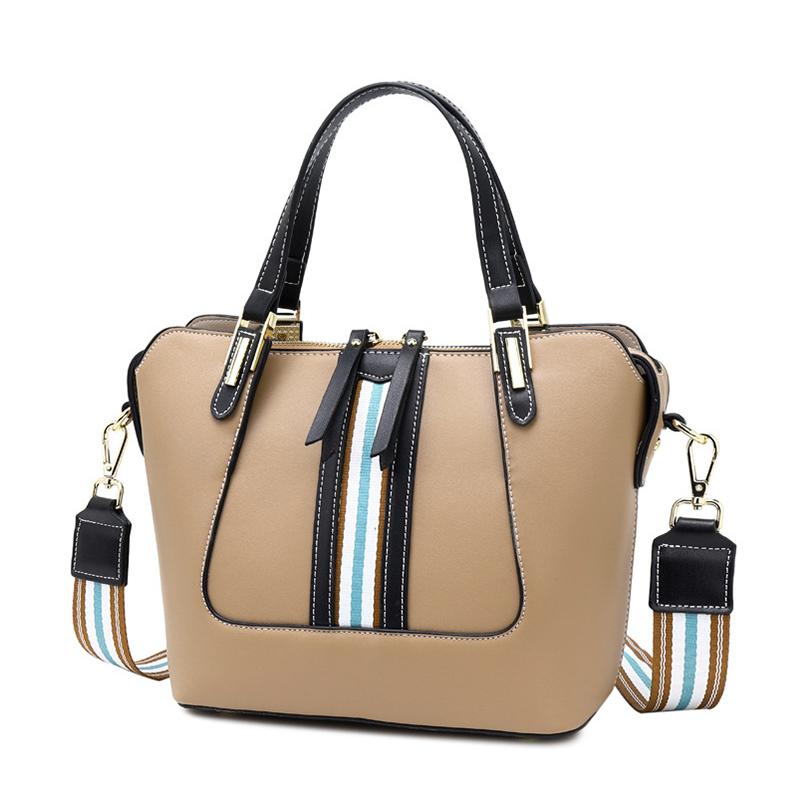 REALER женские сумки с верхней ручкой, Женская Большая вместительная сумка-тоут в стиле ретро, женские сумки через плечо для отдыха, 2020(Китай)