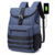 New College Wind Casual Canvas Backpack Men's USB Charging Large Capacity Laptop Backpack