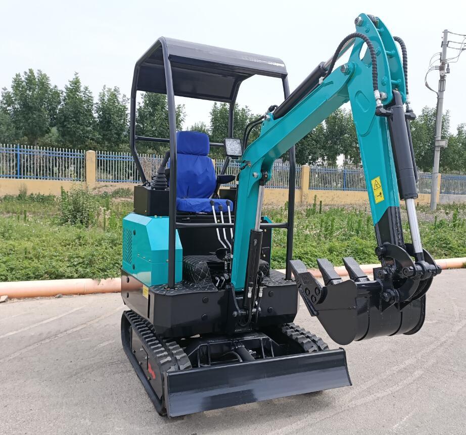 Scavatrice Mini Escavator Piccola Macchina Bagger 1.5 Ton Mini Escavatore In Vendita
