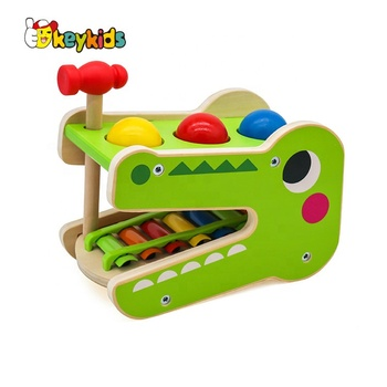 Hot new product for 2020 Latest Wooden toy happy kids toy for kid W06D049
