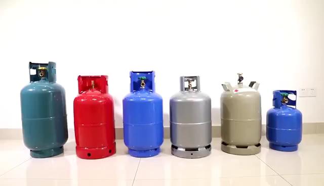 Excellent material 12.5kg propane gas lpg cylinder