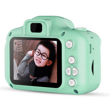 Детская камера, развивающие игрушки для детей, подарок для ребенка, мини цифровая камера 1080P, проекционная видеокамера с 2-дюймовым дисплеем(China)