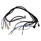 automotive wire 10 pin wiring harness for engine / motorcycle