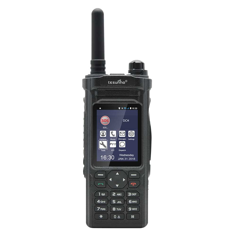 Tesunho 3g WIFI Android handy military radio <strong>communication</strong> 100 km range walkie talkie