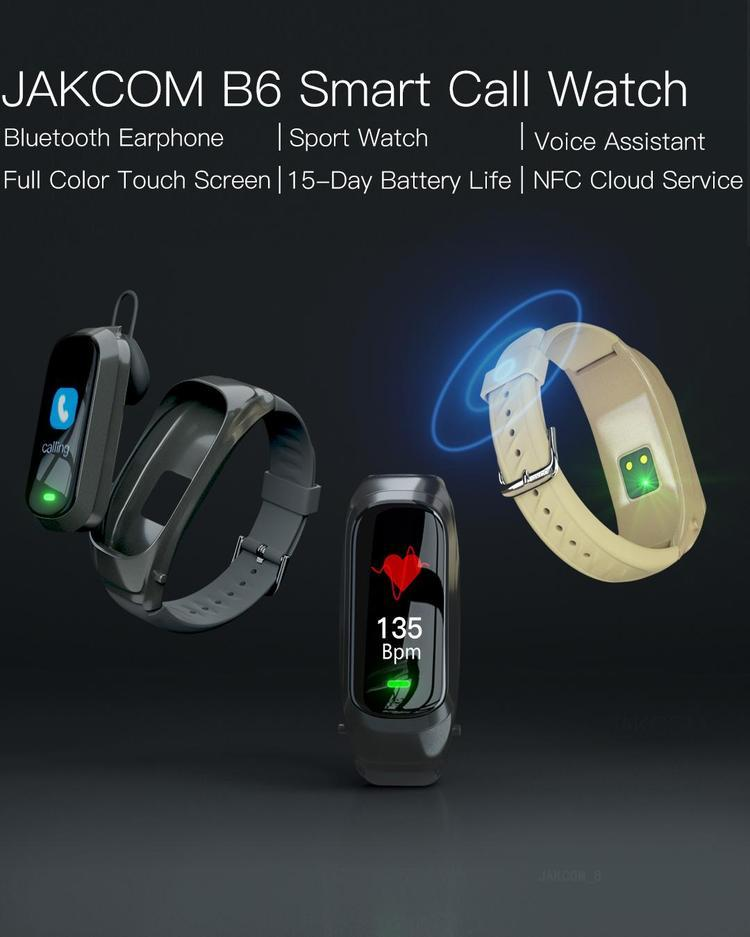 JAKCOM B6 Smart Call Watch New Product of Smart Watches 2020 as w8 watch best selling smartwatch touch 4g thinnest m3 b57 y1s