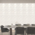 Acoustic panels wall plastic sheets 3d melamine wall panel