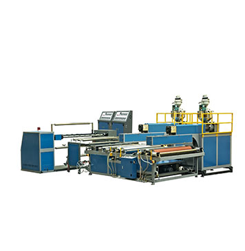 HIGH QUALITY DY-EPE90 epe foam packing sheet making machine in plastic extruder