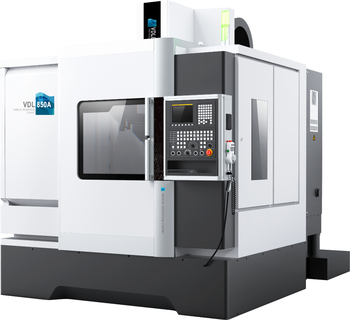 High quality for sales FANUC system 3 axis 24 TOOL magazine 850L Vertical cnc milling center machine