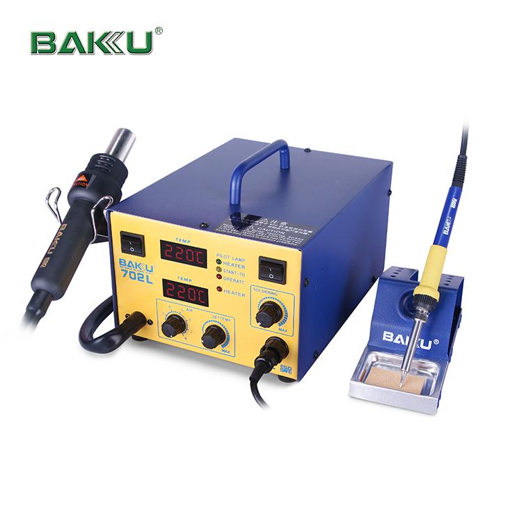 BAKU BK-702L 2 in 1 professional BGA Digital display SMD Soldering Station With Hot Air Gun