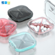 VIENT Plastic Custom Vitamin Pill One day Waterproof Pill Case for Storage Portable Seal Folding Pill Organizer Box