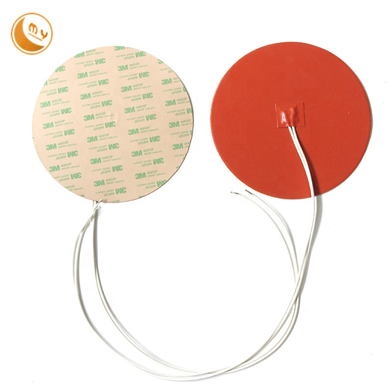 Handsome appearance fast colour stable quality silicone rubber heater with glue