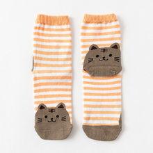 Европейские размеры 36-42, милые Носки с рисунком кошки и собаки, женские милые носки из чистого хлопка с героями мультфильмов, женские носки у...(Китай)