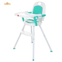 Multifunctional High Chair Baby Feeding Modern 3 in 1 Children High Chair for Feeding