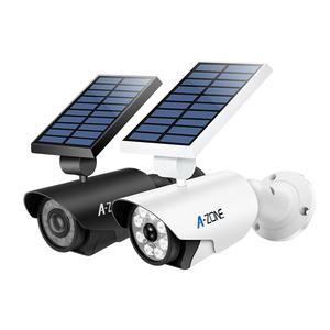 Motion Sensor Lights 800 Lumens 8 LED Spotlight 5W Outdoor IP66 Waterproof Solar Flood Light for Home