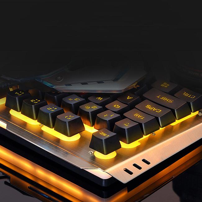 SUNSONNY S-K4 suspended backlit wired backlit keyboard gaming keyboard
