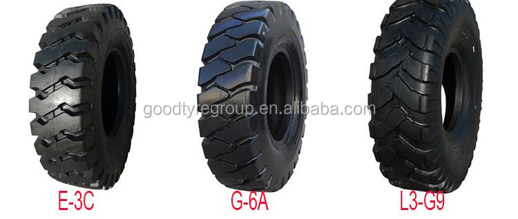 Bias off road pneu de caminhão L3/E3 17.5-25 OTR PNEU