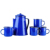 Wholesale white enamel cookware dinnerware kitchenware camping kettle pots dish dinner set