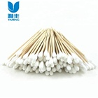 Free Samples 100% Natural Cotton Medical Disposable Non Sterile Cotton Swab Applicator