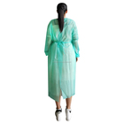[ Suits ] Disposable Polypropylene Coverall Non Woven Disposable Lab Coat Aami Level 2 3 4 Gown Pe Pp Cpe Sms Workwear Suits Type 5 6