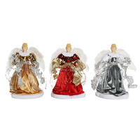 23~40cm Christmas Angel Ornaments Decorations Tree Top Figurines Collection Doll Xmas Festival Xmas Holiday Christmas Series