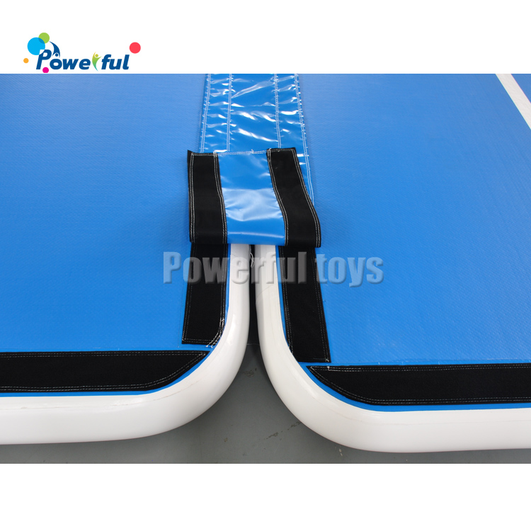 Combined large 18m inflatable airtrack exercise mat