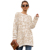 Women Crew Neck Long Sleeve Loose Fit Knitted Sweater Pullover Tops
