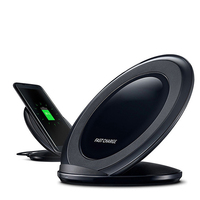 battery charger charging station 10W qi wireless magnetic induction Vertical wireless charger
