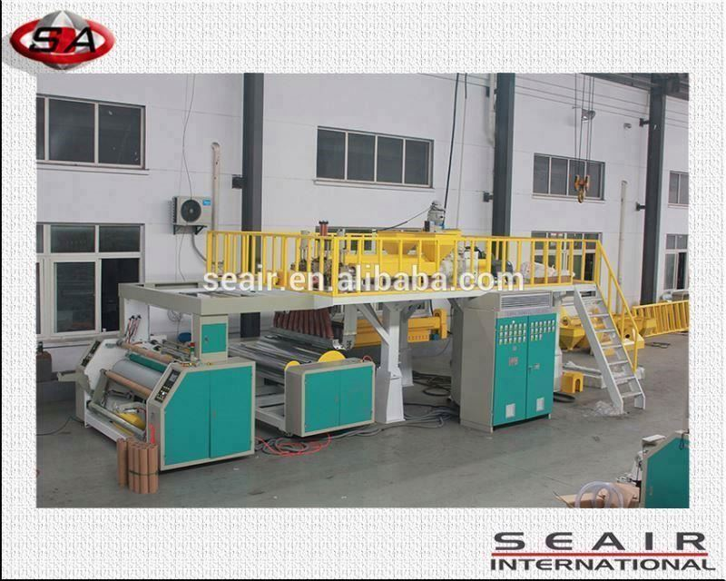 double screw snack foos film blown line, food packing machine,fruit packing machine