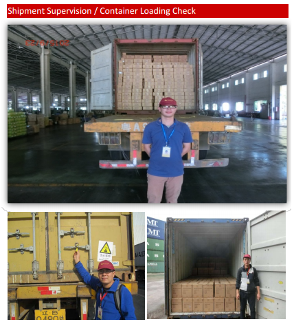 Raincoat New factory audit / Product quality inspection before shipping / Container loading service.
