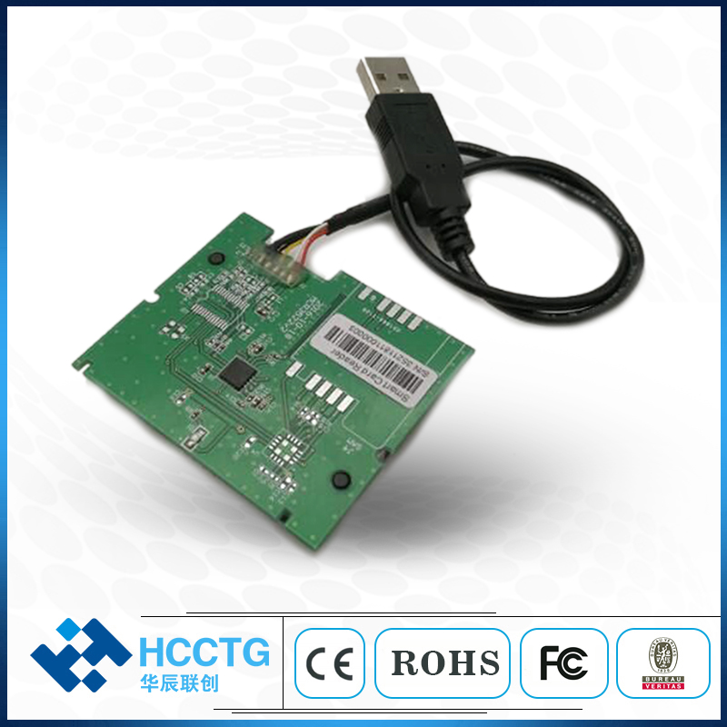 ISO-7816 USB Floppy IC Chip Smart Card Reader Module With free SDK MCR3521-M