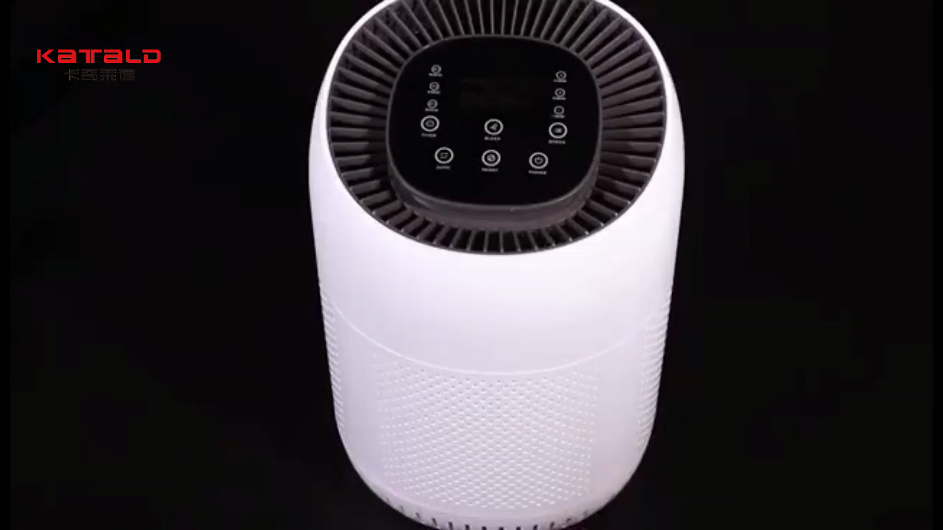 Air Cleaner with 3 Stage Filtration with True HEPA Filter, Allergen Remover, Dust Smoke Odor Home Air Purifier Portable
