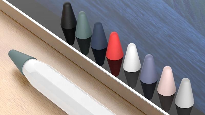 อัพเกรดแรงเสียดทานต่ำที่กำหนดเองดินสอสำหรับ Apple ดินสอ1 & 2nd Generation ซิลิโคนสำหรับ Apple iPad 2020