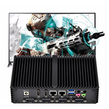 Fanless <span class=keywords><strong>Barebone</strong></span> <span class=keywords><strong>Desktop</strong></span> 12v Partecipe I3 4005u Industriale Mini Pc